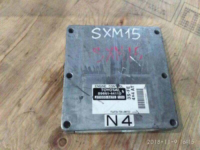 Блок управления двс Toyota Gaia SXM15G 3S-FE 1999