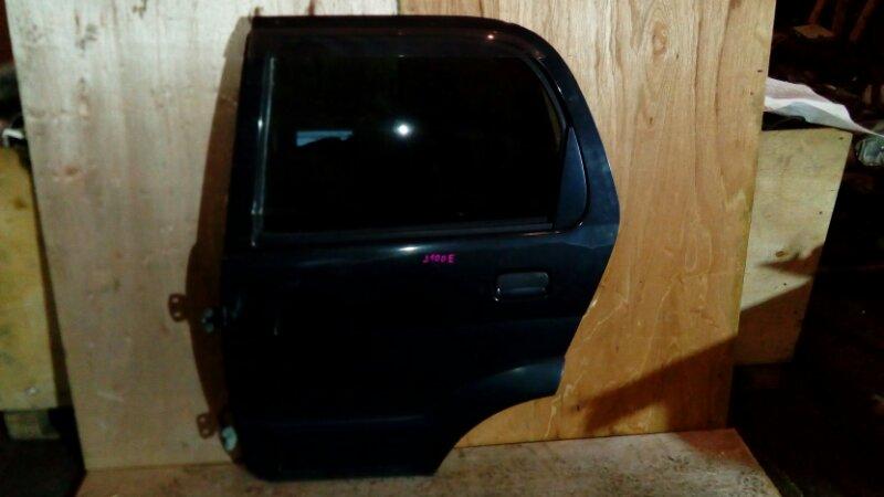 Дверь боковая Toyota Cami J100E HC-EJ 1999 задняя левая