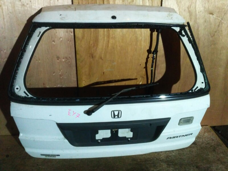 Дверь задняя багажника Honda Partner EY7 D15B 2003