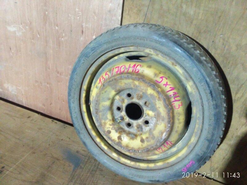 Запасное колесо Toyota Gaia SXM15G 3S-FE 1998