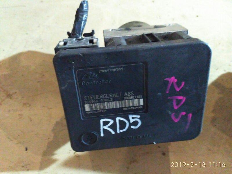 Блок abs Honda Cr-V RD5 K20A 2002