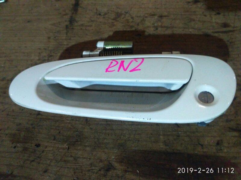 Ручка наружная Honda Stream RN2 D17A 2001 передняя левая
