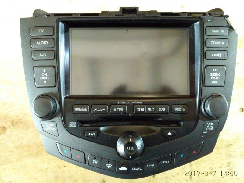 Навигация Honda Accord CL7 K20A 2004