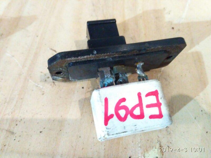 Реостат печки Toyota Starlet EP91 4E-FE 1998