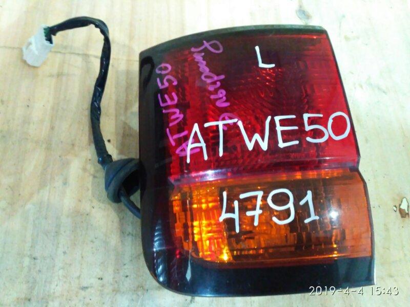 Фонарь стоп-сигнала Nissan Elgrand ATWE50 1998 левый
