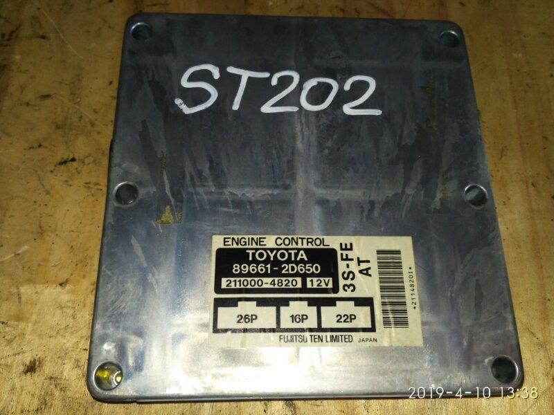 Блок управления двс Toyota Carina Ed ST202 3S-FE 1997