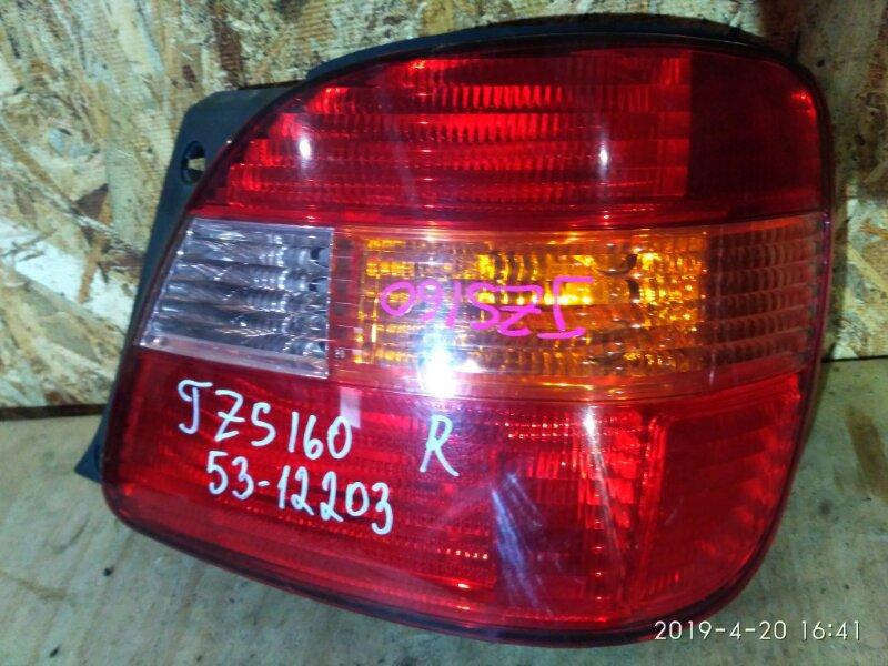 Фонарь стоп-сигнала Toyota Aristo JZS160 2JZ-GE 2003 правый