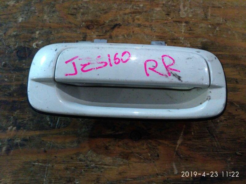 Ручка наружная Toyota Aristo JZS160 2JZ-GE 1998 задняя правая