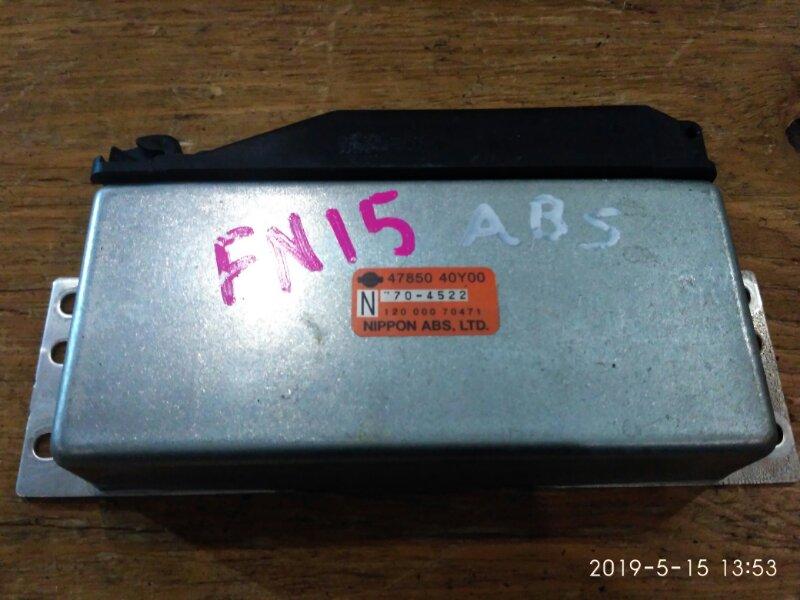 Блок управления abs. Nissan Pulsar FN15 GA15DE 1997