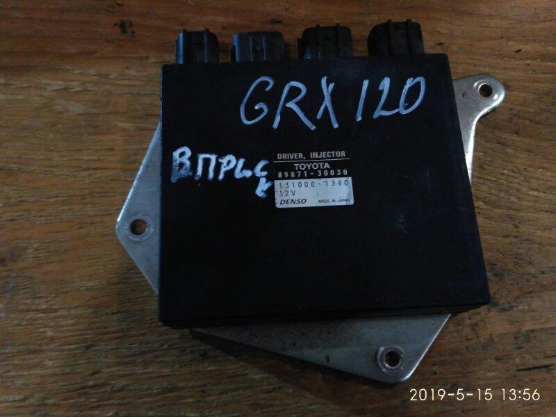Блок управления впрыском топлива Toyota Mark X GRX120 4GR-FSE 2005