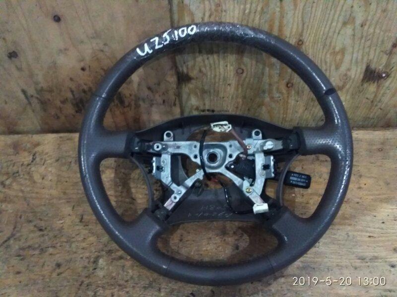 Руль Toyota Land Cruiser UZJ100W 2UZ-FE 2001