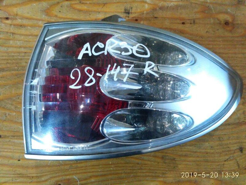 Фонарь стоп-сигнала Toyota Estima ACR30 2AZ-FE 2001 правый