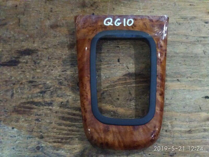 Пластиковые детали салона Nissan Bluebird Sylphy QG10 QG18DE 2004