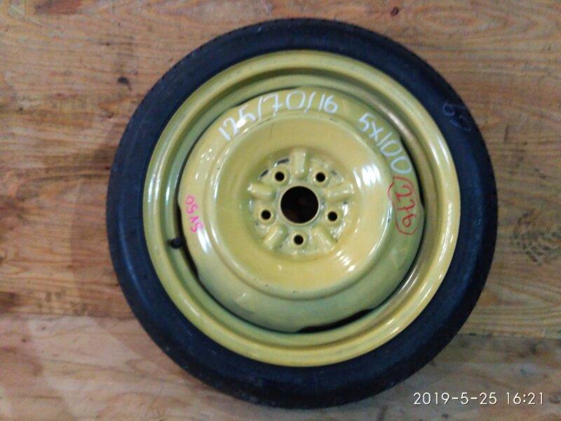 Запасное колесо Toyota Vista SV50 3S-FSE 2000