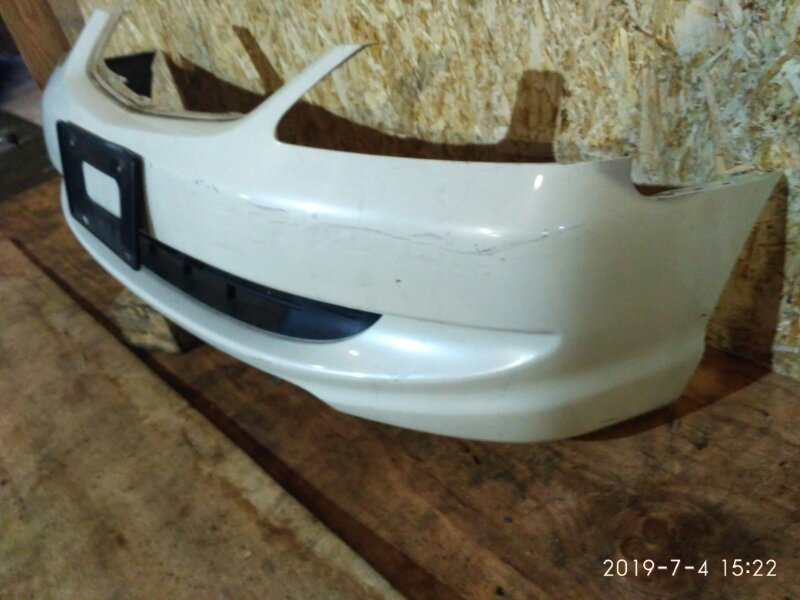 Бампер Honda Civic EU3 D17A 2004 передний