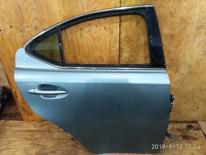 Дверь боковая Lexus Is250 GSE20 4GR-FSE 2006 задняя правая