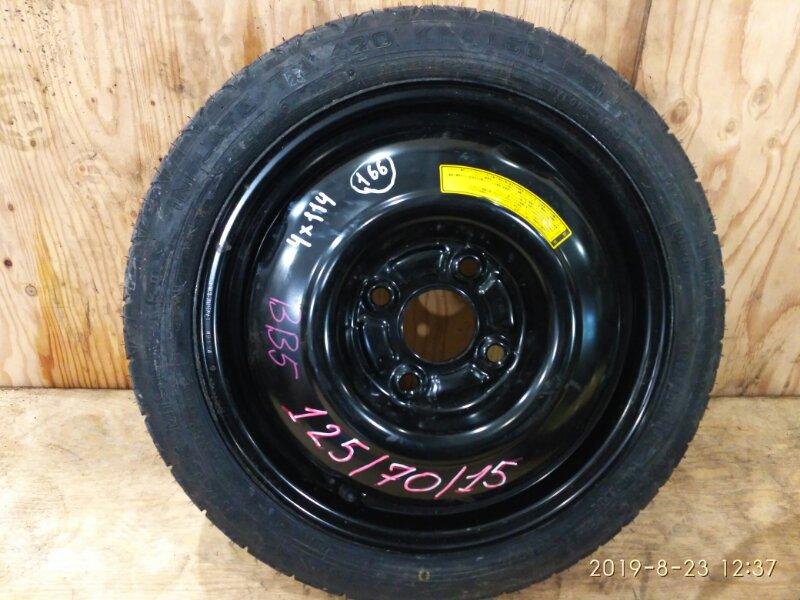 Запасное колесо Honda Prelude BB5 F22B 1998