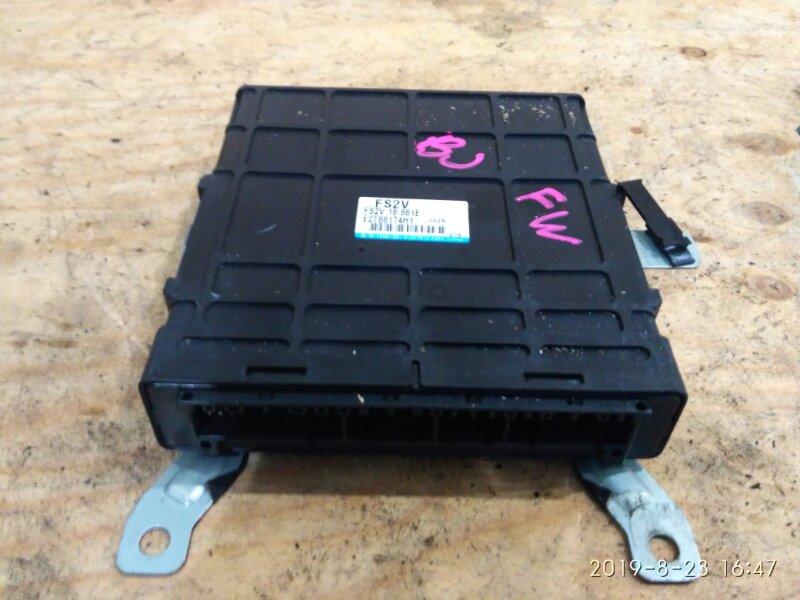 Блок управления двс Mazda Familia S-Wagon BJFW FS-DE 2000