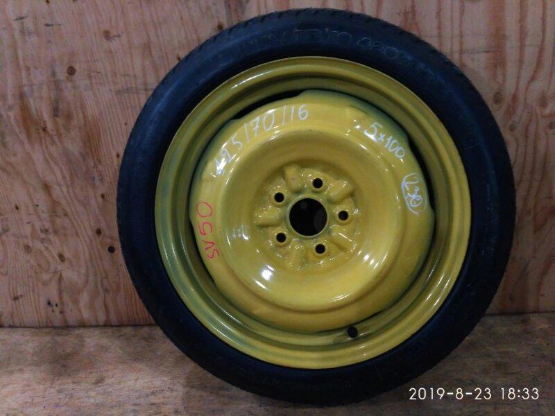 Запасное колесо Toyota Vista Ardeo SV50 3S-FSE 2000