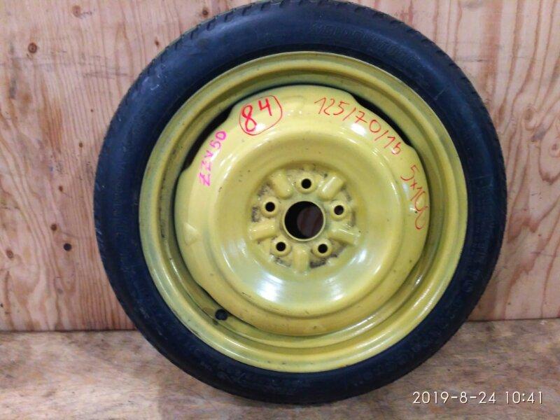 Запасное колесо Toyota Vista ZZV50 1ZZ-FE 1999