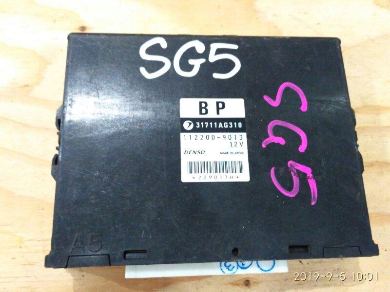 Блок управления кпп Subaru Forester SG5 EJ20-T 2006