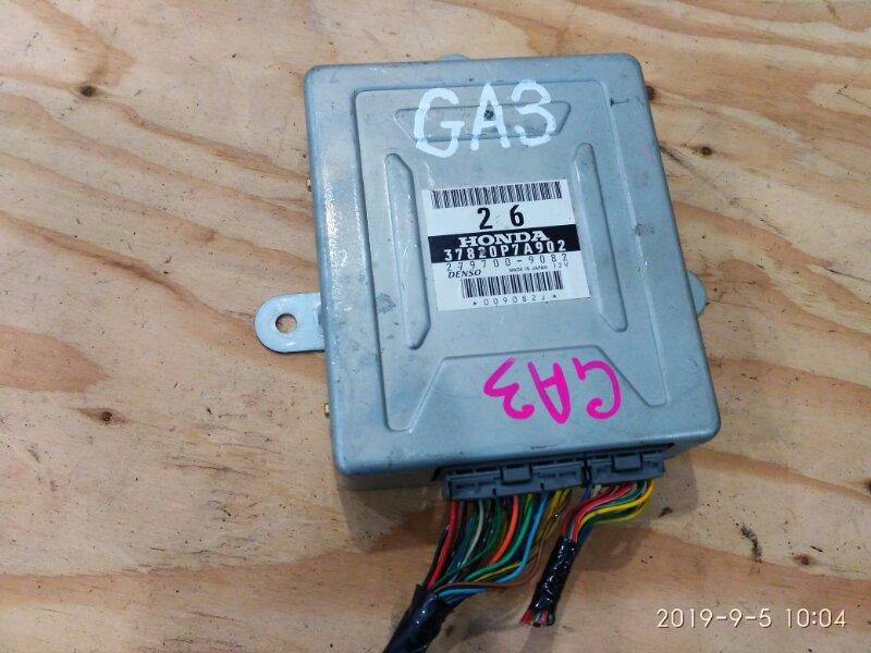 Блок управления кпп Honda Logo GA3 D13B 2000