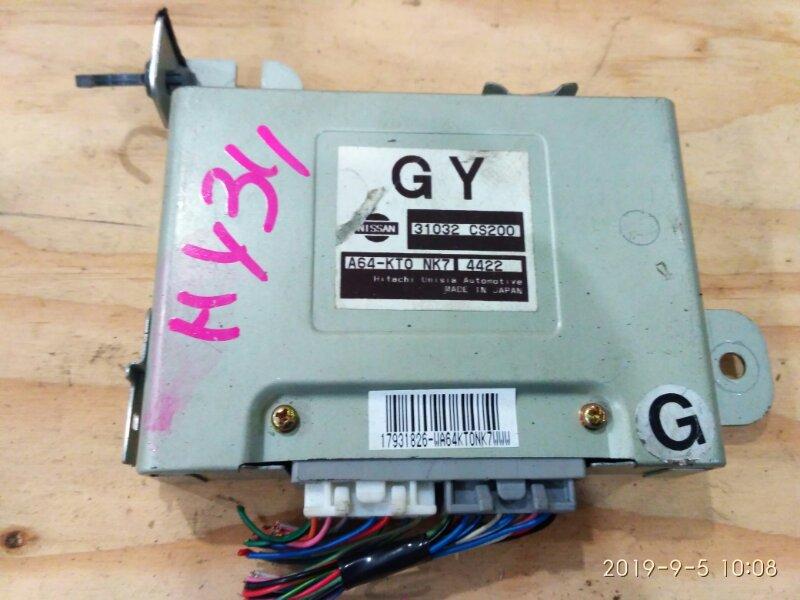 Блок управления кпп Nissan Gloria HY34 VQ30DET 2004