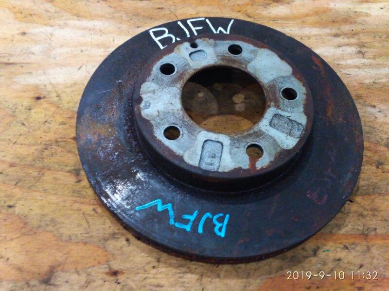 Диск тормозной Mazda Familia S-Wagon BJFW FS-DE 2000 передний