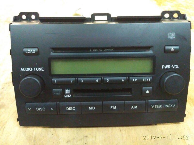 Магнитола Toyota Land Cruiser Prado VZJ125W 5VZ-FE 2002