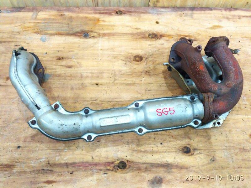 Труба приемная глушителя Subaru Forester SG5 EJ20-T 2005