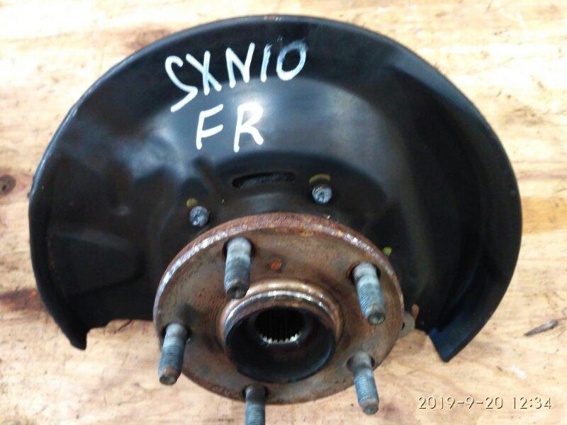 Ступица Toyota Nadia SXN10 3S-FSE 1998 передняя правая