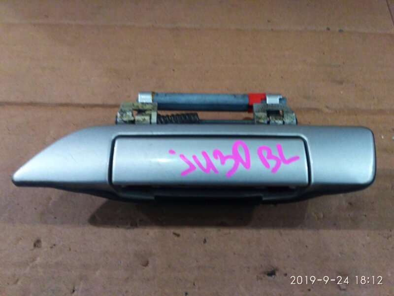 Ручка наружная Nissan Bassara JU30 KA24DE 1999 задняя левая
