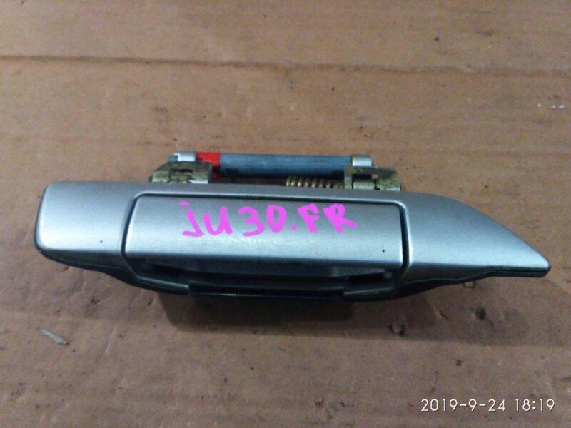 Ручка наружная Nissan Bassara JU30 KA24DE 1999 передняя правая