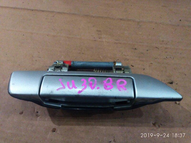 Ручка наружная Nissan Bassara JU30 KA24DE 1999 задняя правая