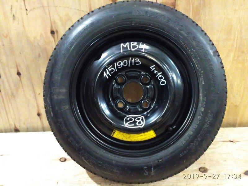 Запасное колесо Honda Domani MB4 D16A 1997