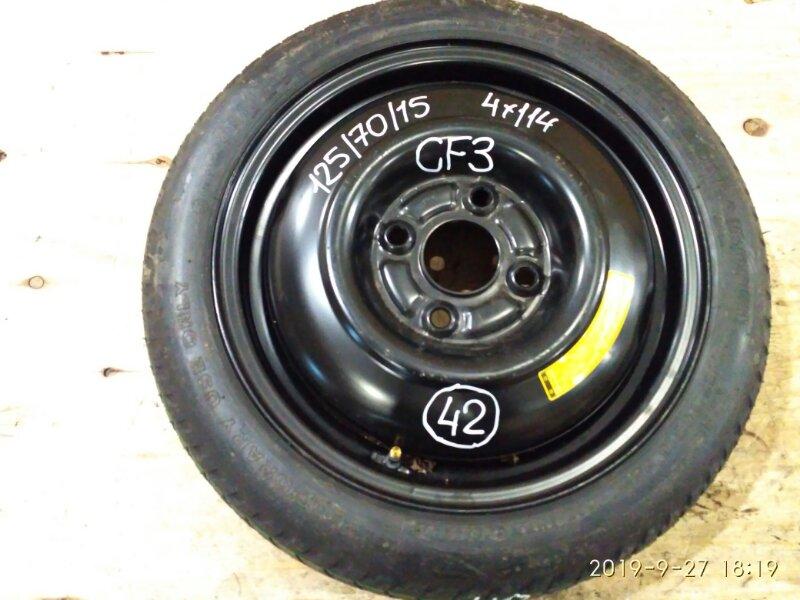 Запасное колесо Honda Torneo CF3 F18B 2002