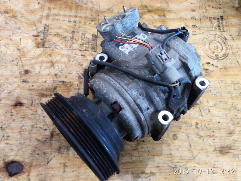 Компрессор кондиционера Toyota Corona Exiv ST200 4S-FE 1994