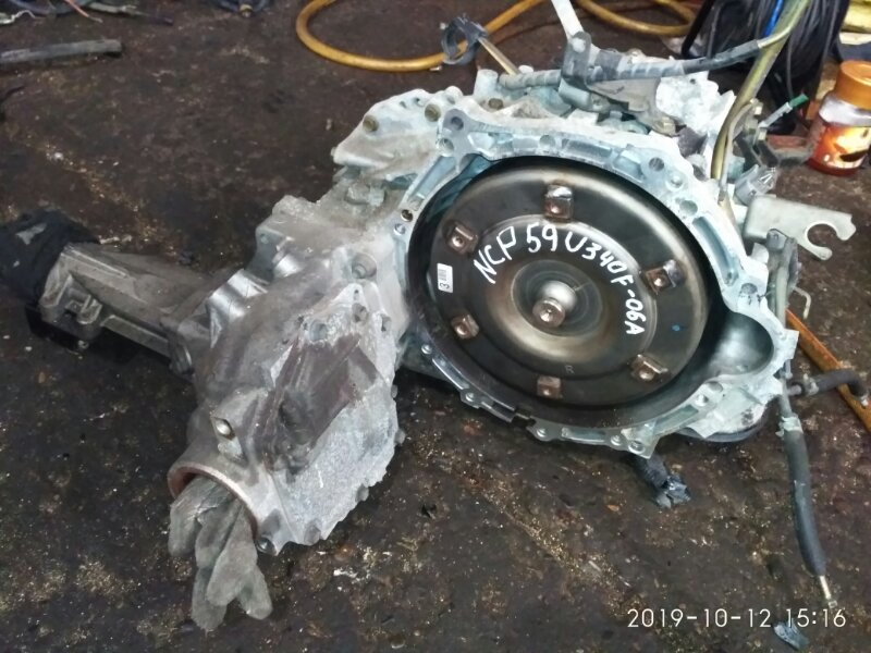 Акпп Toyota Succeed NCP55V 1NZ-FE 2005