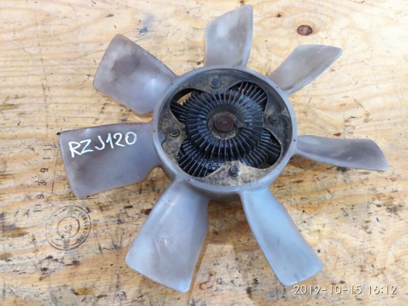 Вискомуфта Toyota Land Cruiser Prado RZJ120W 3RZ-FE 2003