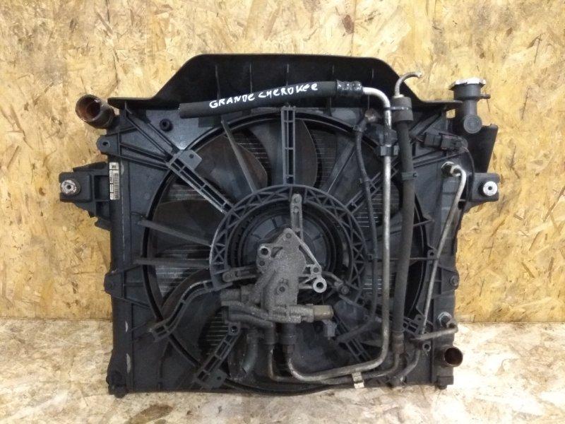 Радиатор двигателя Jeep Grand Cheroke 2003