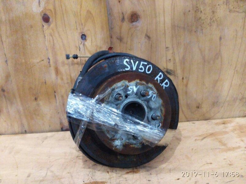 Ступица Toyota Vista SV50 3S-FSE 2000 задняя правая