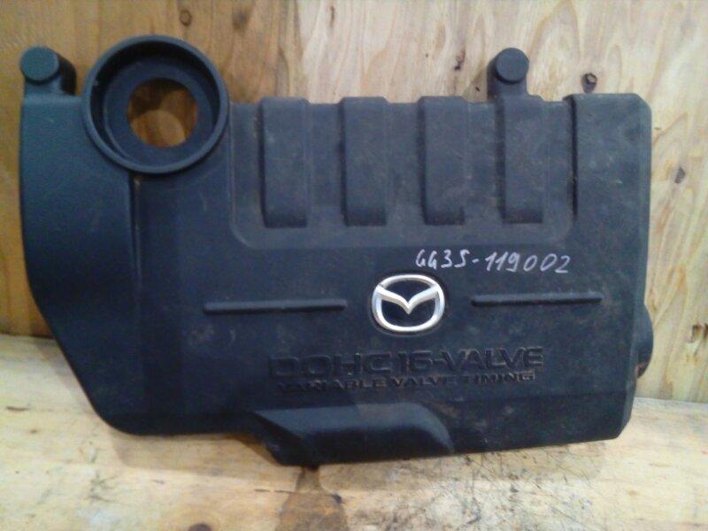 Крышка на двигатель декоративная Mazda Atenza GG3S L3-VE 2004