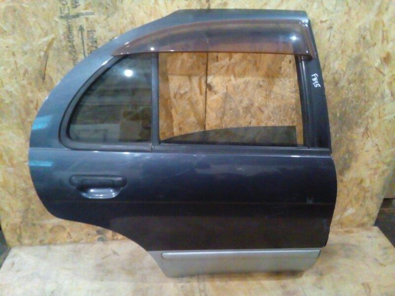 Дверь боковая Nissan Pulsar FN15 GA15DE 1997 задняя правая