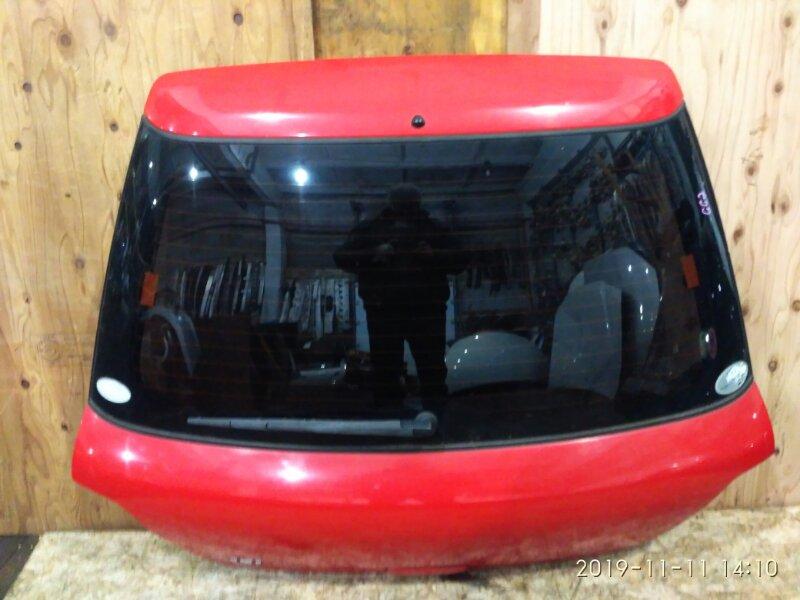 Дверь задняя багажника Subaru Impreza GG2 EJ15 2005 задняя
