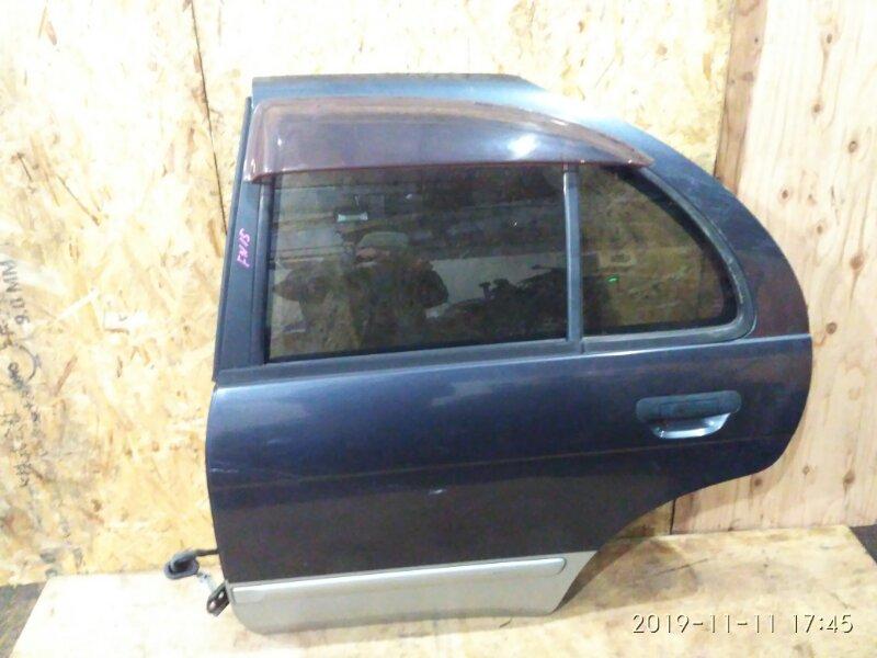 Дверь боковая Nissan Pulsar FN15 GA15DE 1997 задняя левая