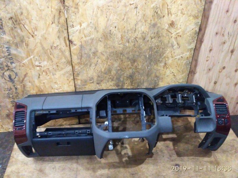 Панель передняя в салон Mitsubishi Pajero V73W 6G72 2003