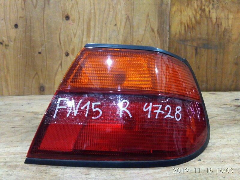 Фонарь стоп-сигнала Nissan Pulsar FN15 GA15DE 1997 правый