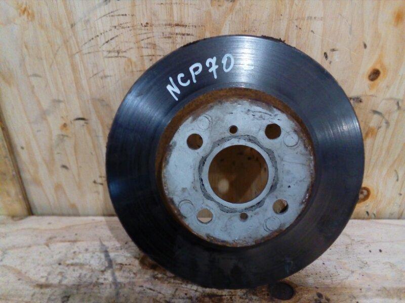 Диск тормозной Toyota Will Cypha NCP70 2NZ-FE 2003 передний