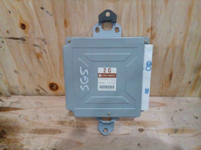 Блок управления двс Subaru Forester SG5 EJ20-T 2002