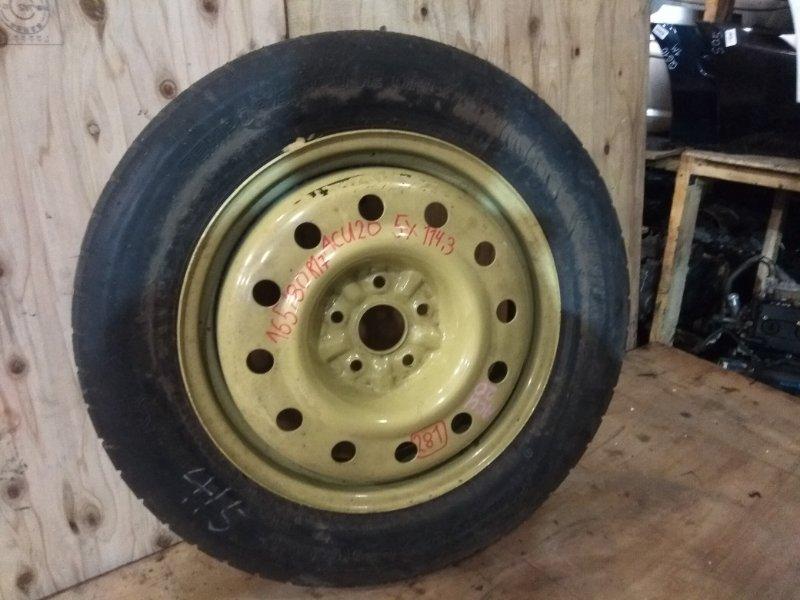 Запасное колесо Toyota Kluger ACU20W 2AZ-FE 2001